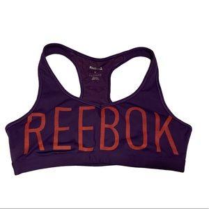 REEBOK Purple & Orange Sportsbra!